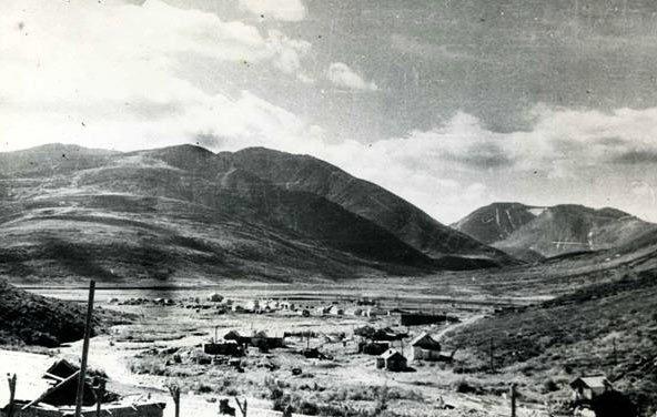 Поселок Харбей Харбейской ГРП в 1961 году