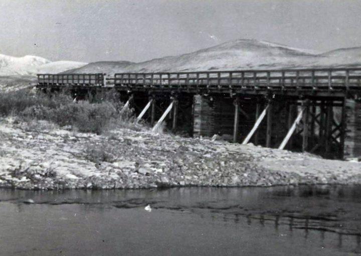 «Деревянный мост» на 106-м км 1961