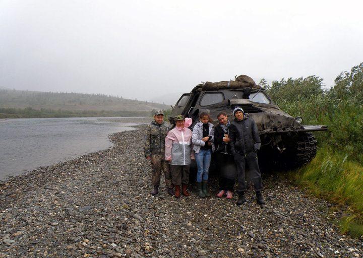 Группа из Нижнего Тагила направляется в Нефритовый