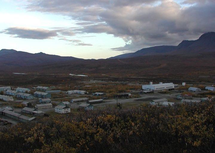 Общий вид поселка в 2001 году