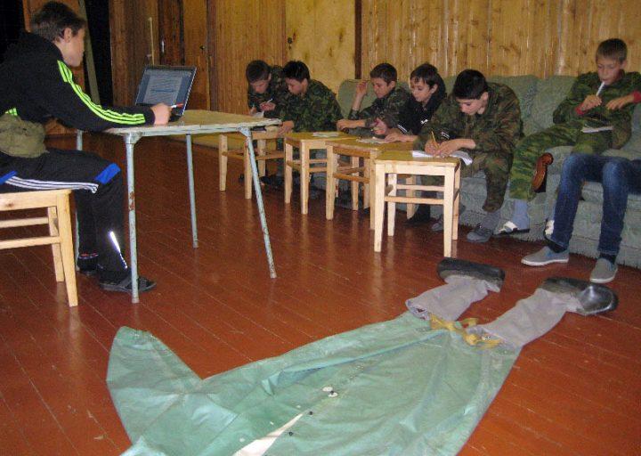 Учебные будни в гостинице базы Перевал