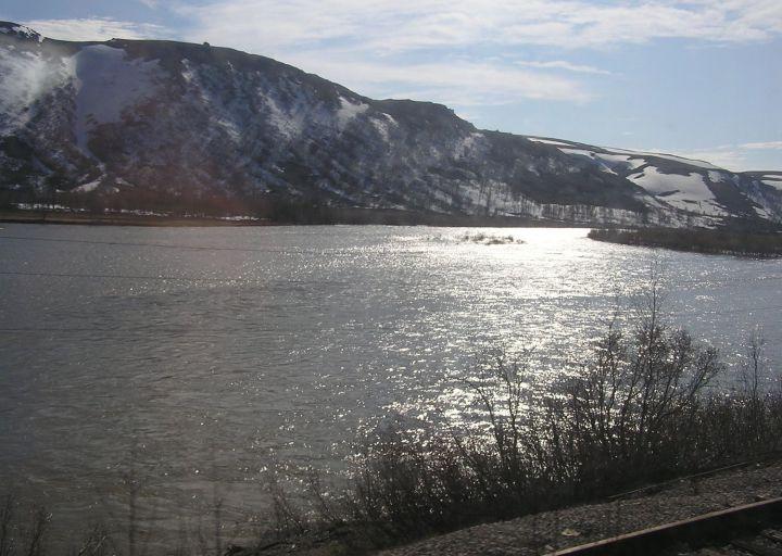 Это река Собь!