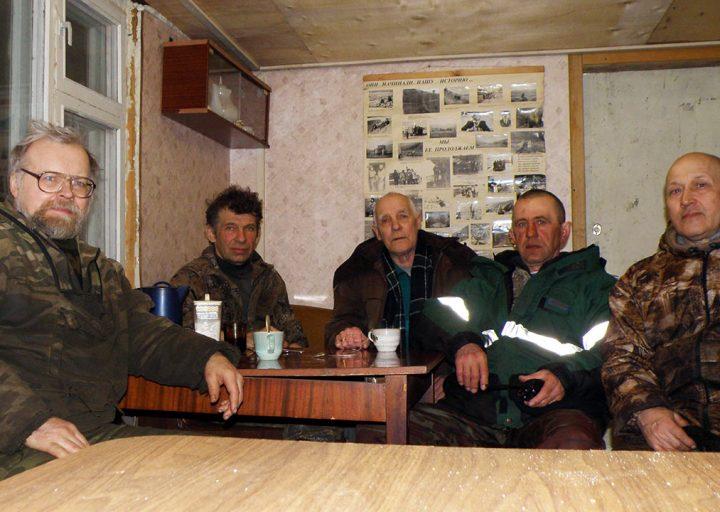 День Геолога 2014 в дизельной поселка Полярный