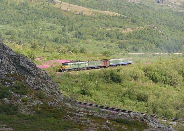 Поезд Лабытнанги - Воркута