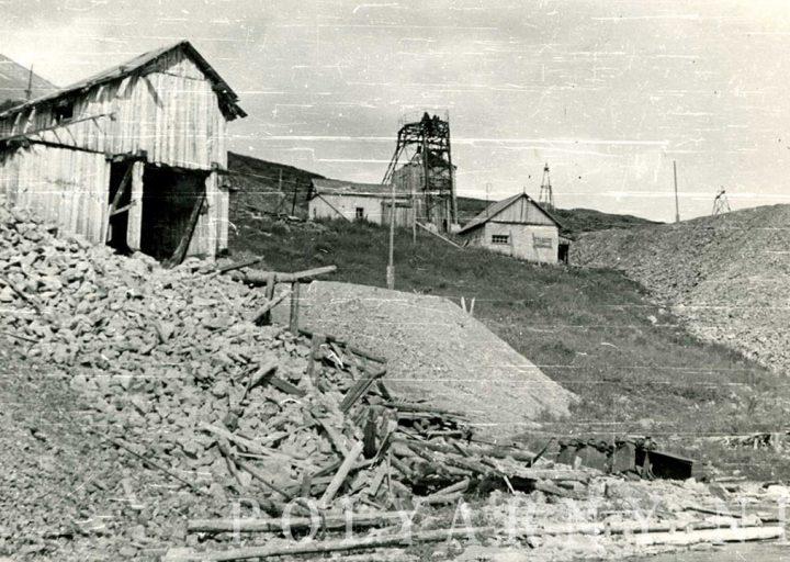 Рудосортировка штольни N4 и шахта Разведочная. 1961