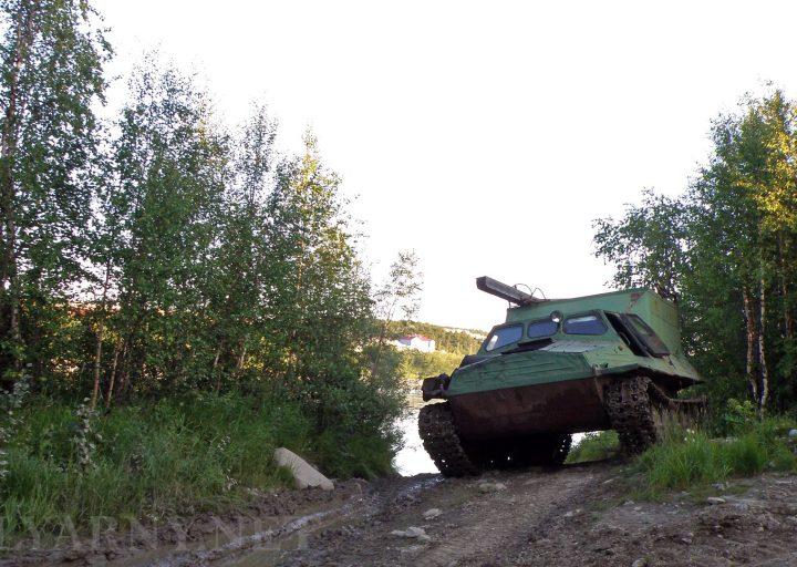 ГТ-Т-2 покидает Харп