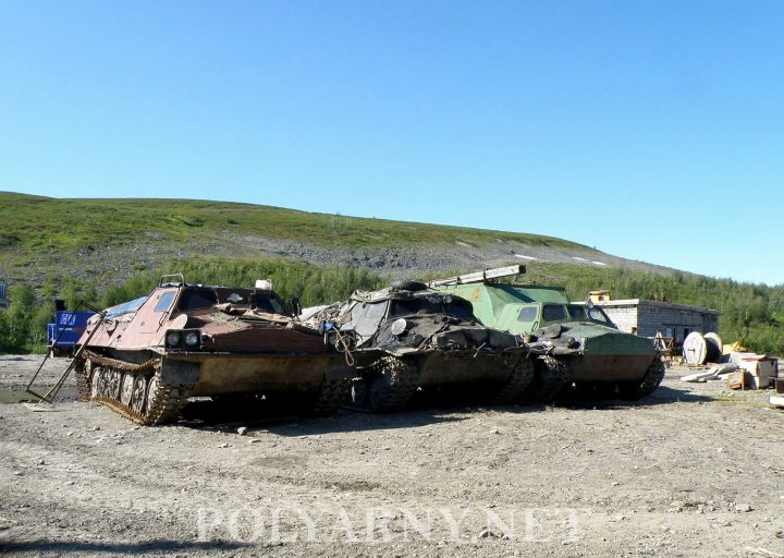 ГТ-Т-2 занял свое место на стоянке