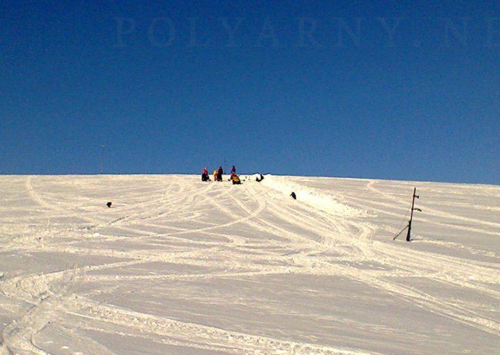 Опять копают сноубордисты