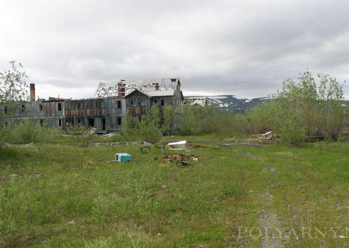Бывшие самые новые два дома Полярного
