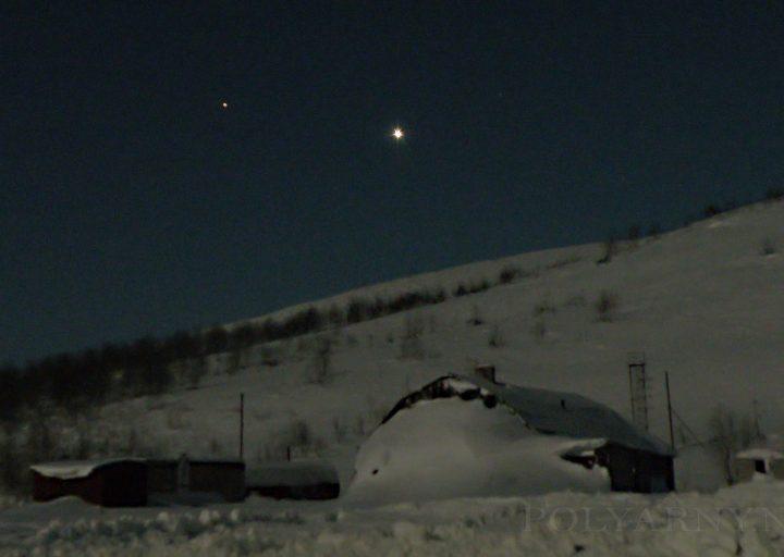 Звезда надежды над Базой Перевал