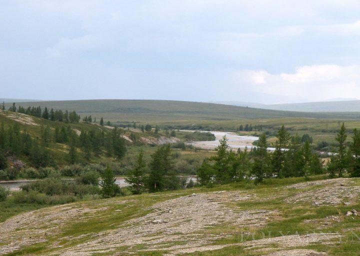Перед ливнем на реке Харута