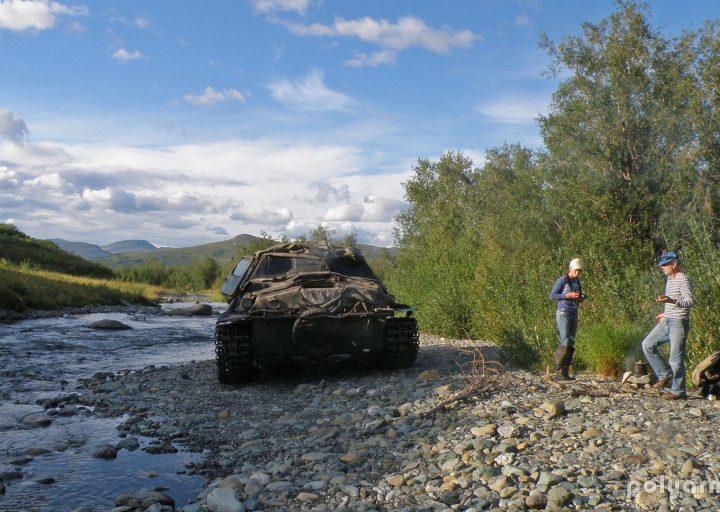 На ручье Нырдвоменшор Западный
