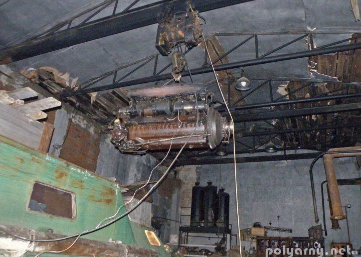 Демонтаж двигателя с ГТ-Т2