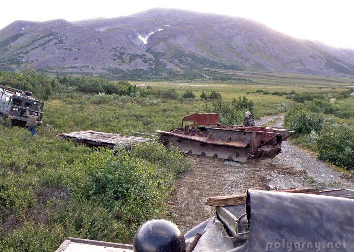 Вездеход из САУ-76 на Харбее
