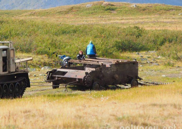 Третий САУ-76 пролежал 40 лет на Сядате