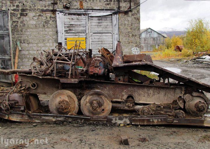 Трактор ТДТ-40 доставлен на базу Перевал