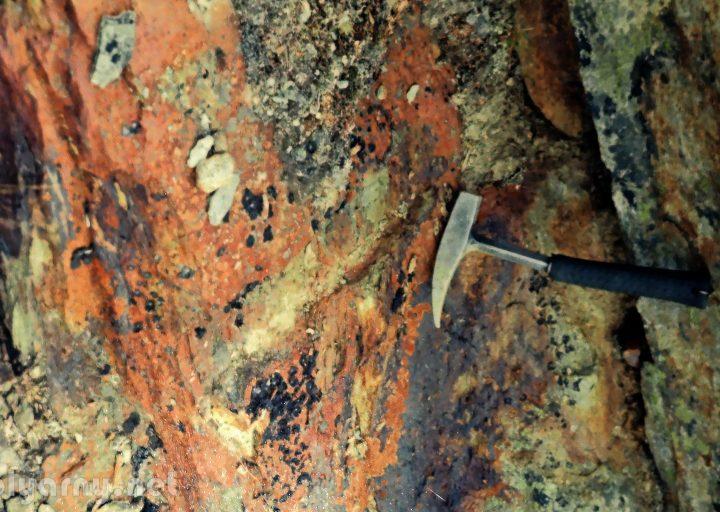Бороздовое геологическое опробование 1948 года