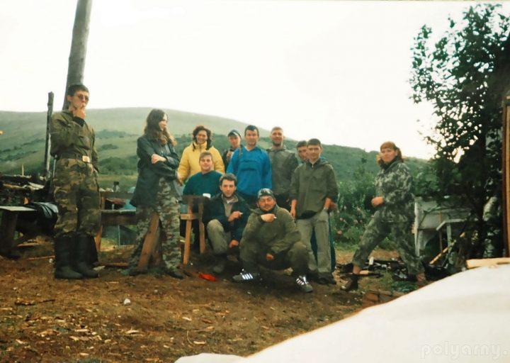 Отряд горно-поисковых работ на Харбее. Лагерный пункт 37