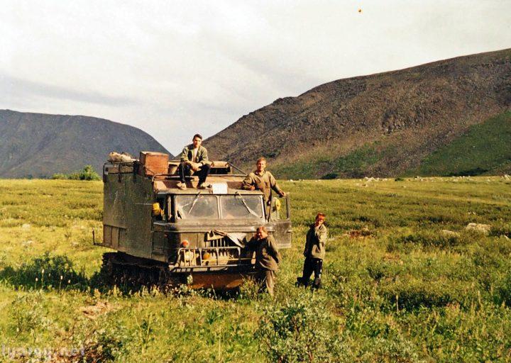 Выделенный Харбейскому горно-поисковому отряду АТ-Л-А
