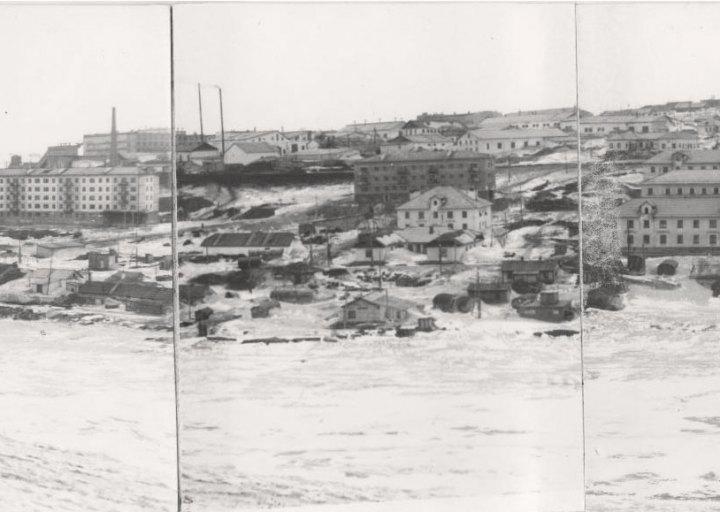 Посёлок Рудник, панорама