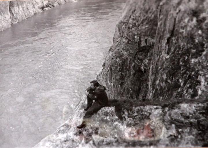 На Каре. На фото Сергей Федотов. 1975 г.