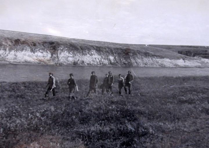 Студенты на Каре.1975 г.