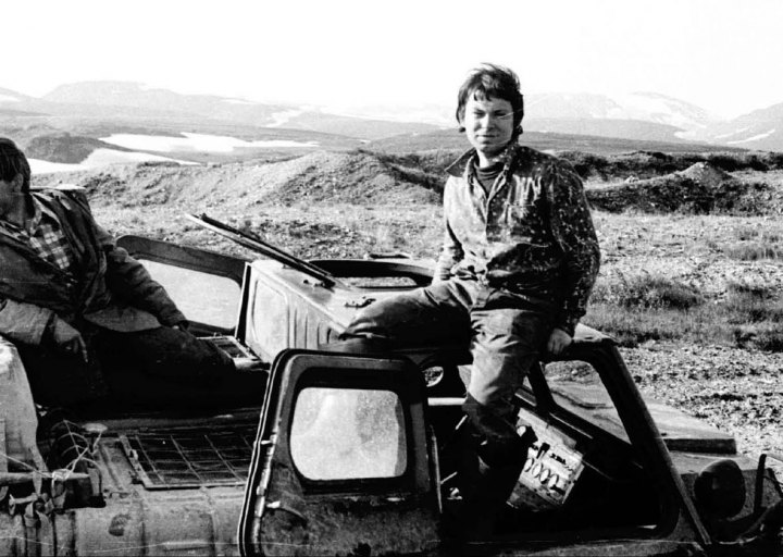 Геологи Сергей Петрович и Борис. 1976 г.
