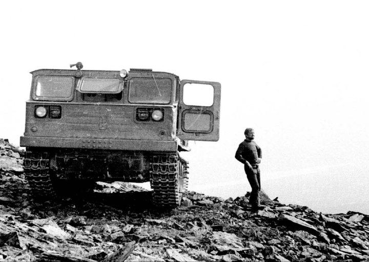 Ивана Геращенко, водитель АТС. 1976 г.