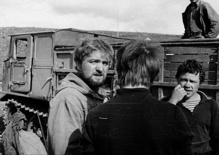 Ивана Геращенко, водитель. Студенты. 1976 г.