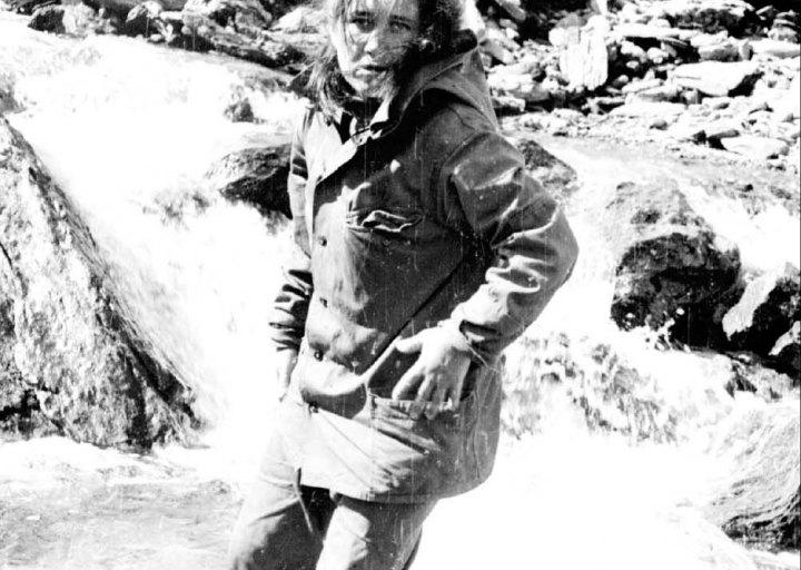 Тамара, жена Саши Афанасьева. 1976 г.