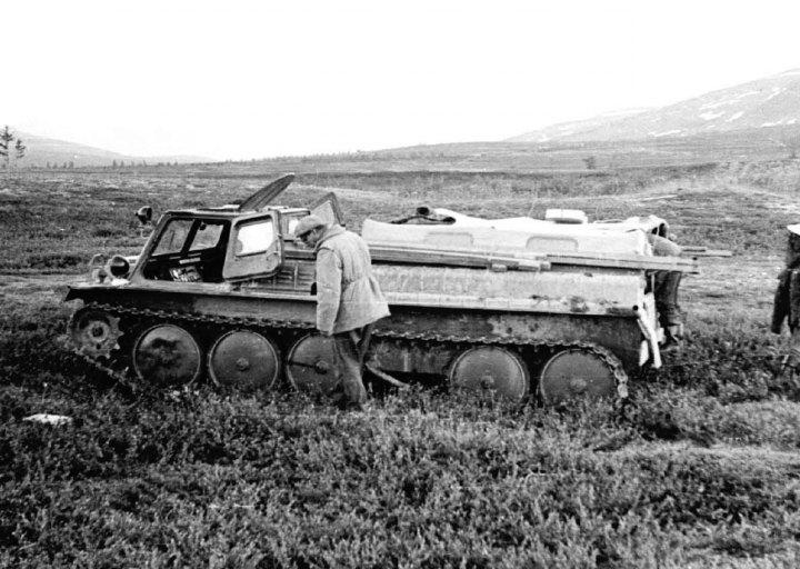 Потеряли каток на пути к Ханмею. 1976 г.