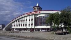 Новое здание ж/д вокзала г.Лабытнанги