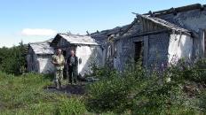 Некоторые домики в 2004 г. ещё стояли