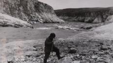Река Кара. Выход бокситов