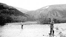 Малая Хадата. Рыбалка. 1976