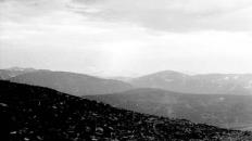 Луч солнца над Полярным Уралом. 1976 г.