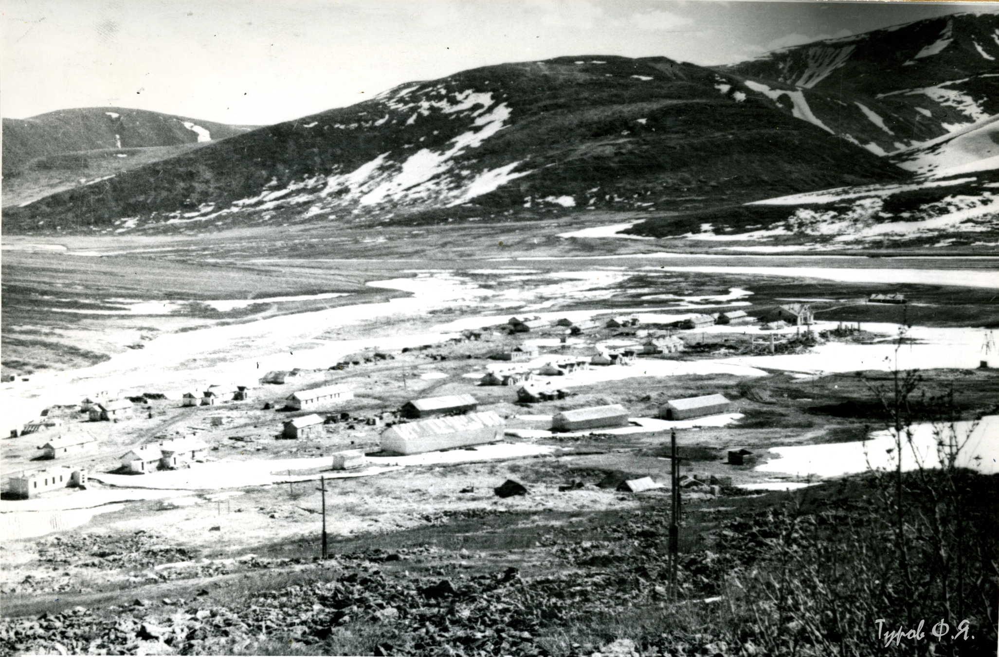 Посёлок Харбей в 1961