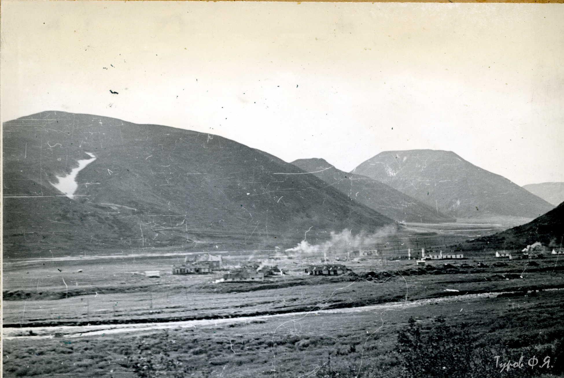 На Харбее топятся печки 1961