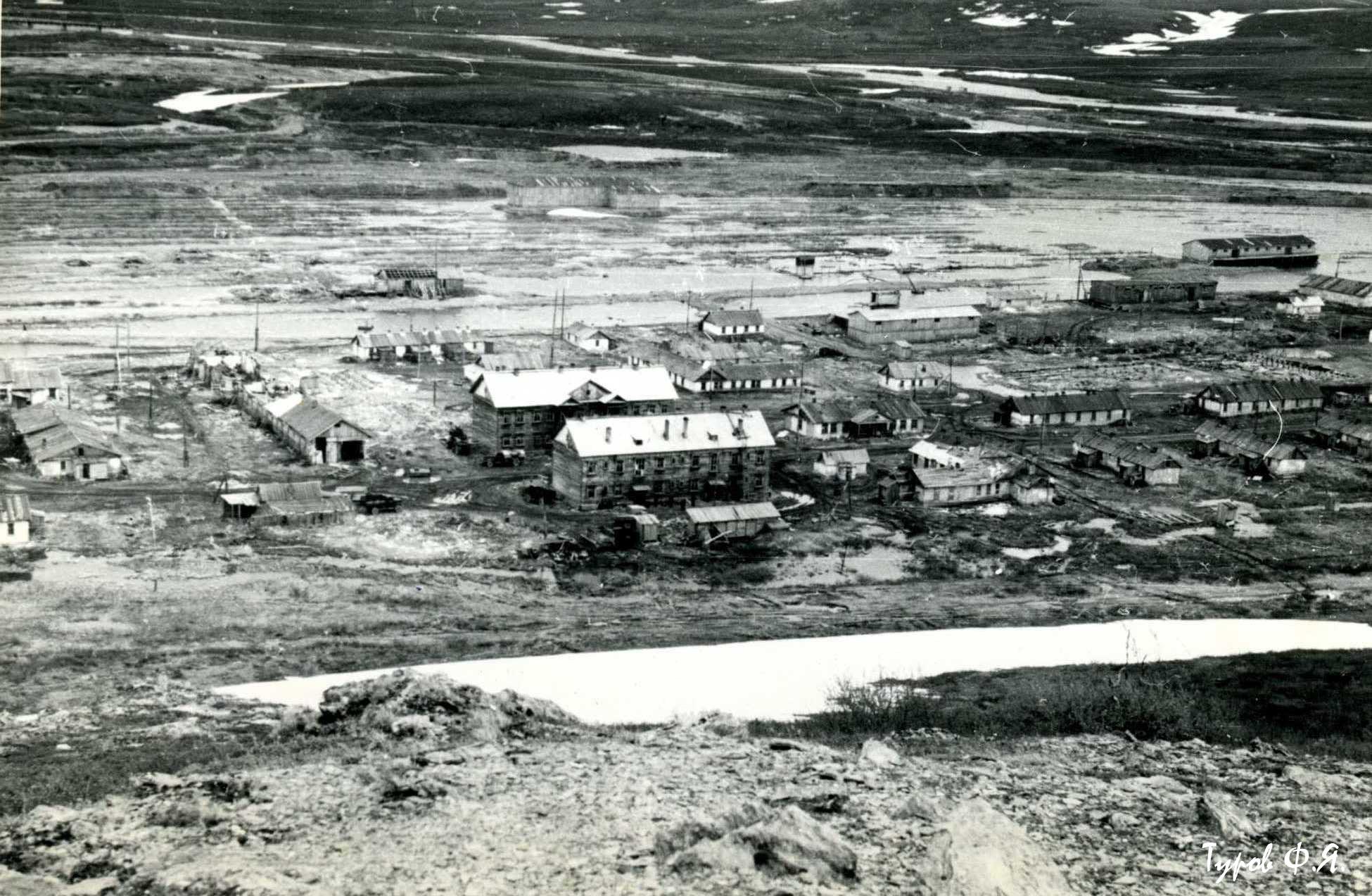 Полярный 110 км в 1961