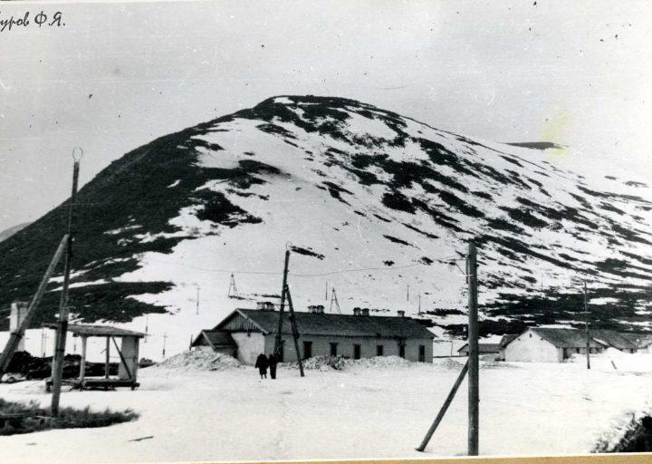 Харбейский поселок в 1961