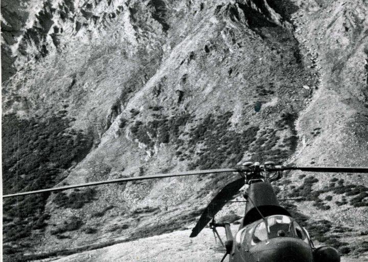 Спектрорадиометр Ми-1 у озера Хадата в 1961