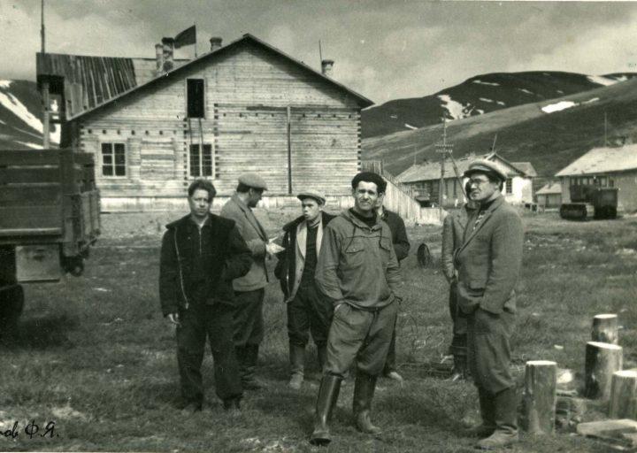 Клуб на Харбее в 1962