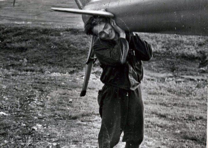 Вертолетчик А.Григорьев 1960-е