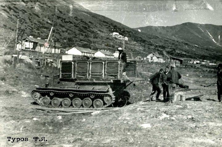 Ханмейский отряд ЦУП разворачивается на Харбее 1961