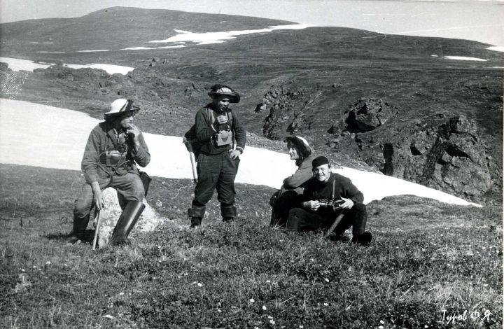 На Водопадном в 1961