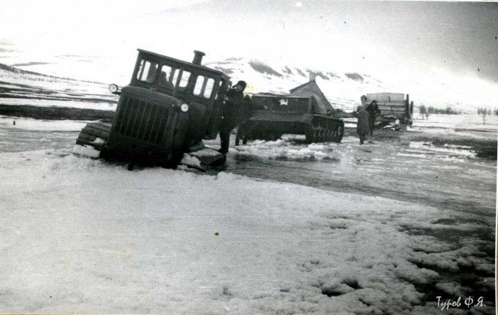 Весенняя распутица в 1961