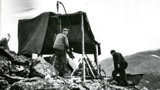 Бурение на Новохарбейском в 1960-е