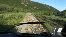 Крупновата брусчатка по Нырдвоменшору Восточному