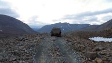 На верхней отметке Конгорского перевала