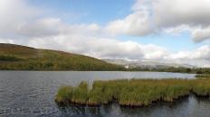Поселковое озеро и база Перевал